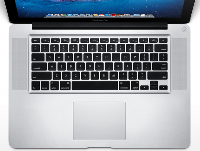 Mac Book Pro keyboard
