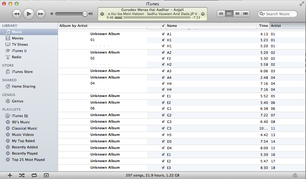 Apple iTunes 10 Screenshot