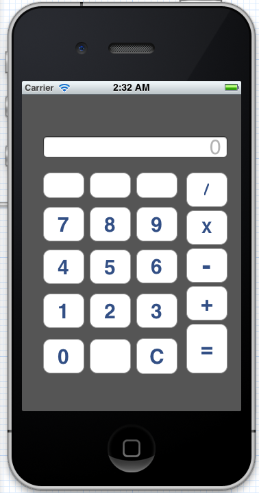 Developing Calculator Program in iOS