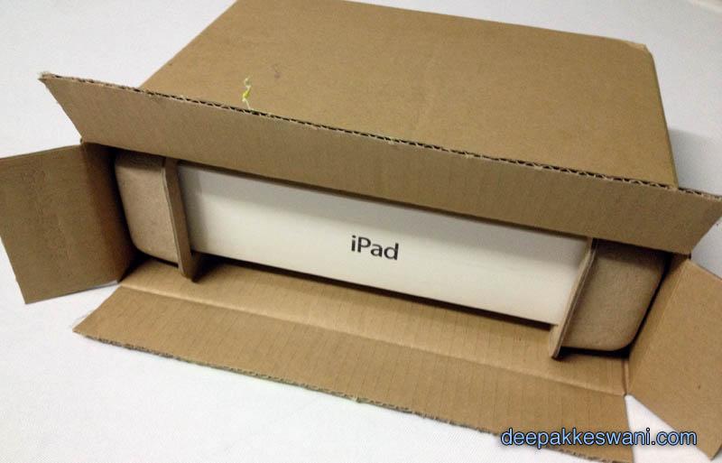 Unboxing new iPad