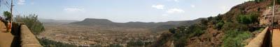 Karla Caves Panorama