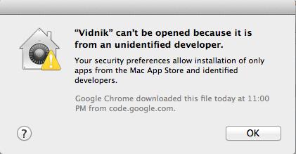 Non app store application