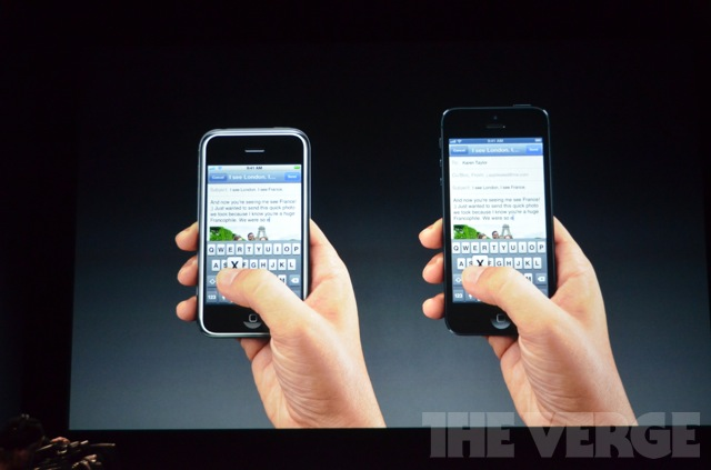 iPhone 4s and iPhone 5 operating