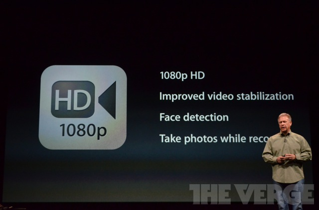 iPhone 5 for HD 1080p video recording