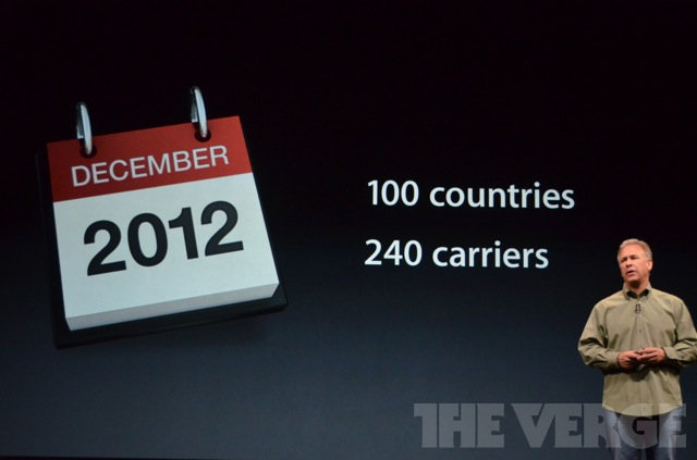 iPhone 5 availability across the world
