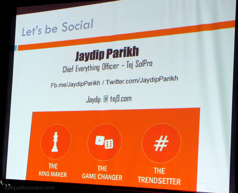 Jaydip Parikh Tej SolPro Slide