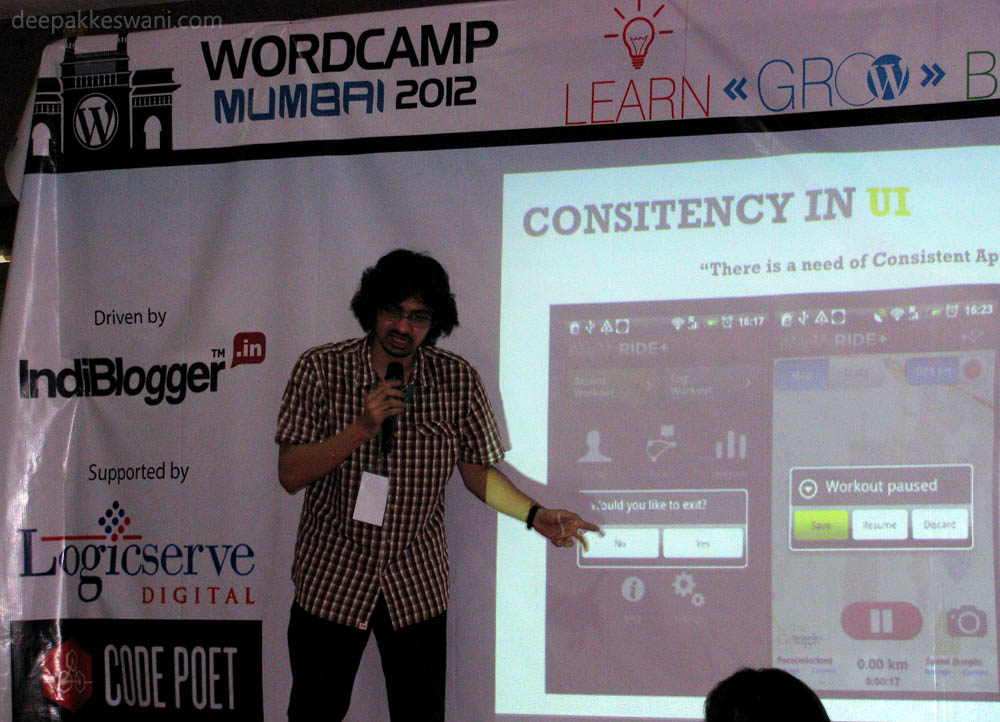 Prajyot Mainkar WordCamp 2012
