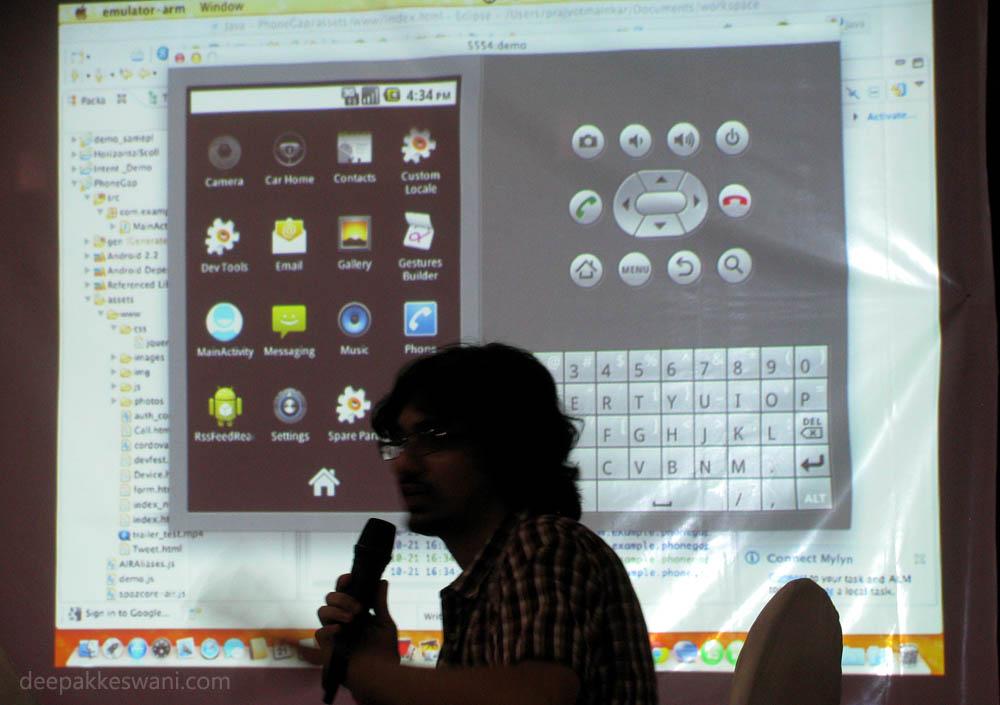 Prajyot Mainkar Google Android Code WordCamp 2012