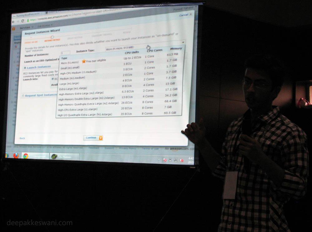 Puneet Sahalot Amazon EC2 Cloud Presentation2