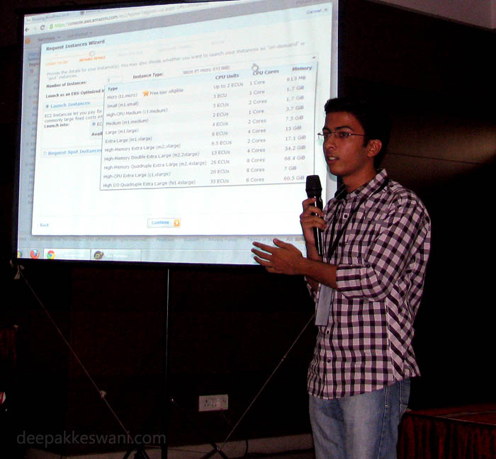 Puneet Sahalot Amazon EC2 Cloud Presentation