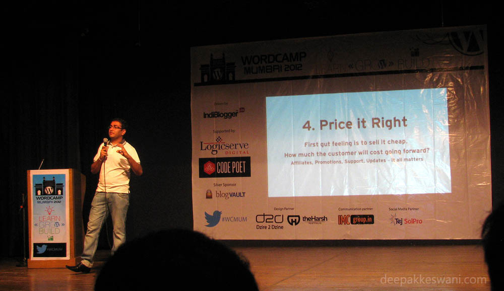 WordCamp Mumbai 2012