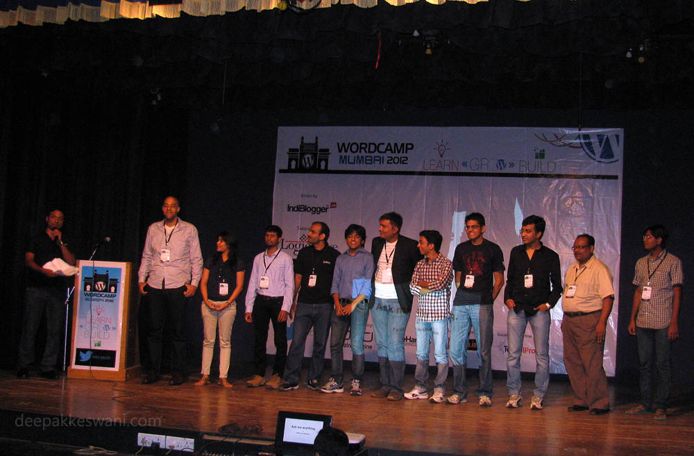 WordCamp Mumbai 2012 Speakers