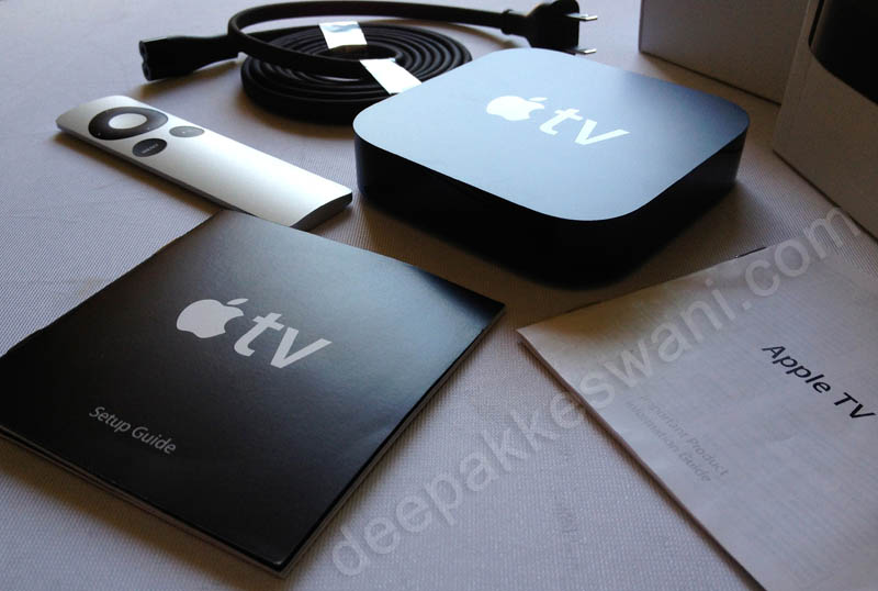 Apple TV India Whats In the box