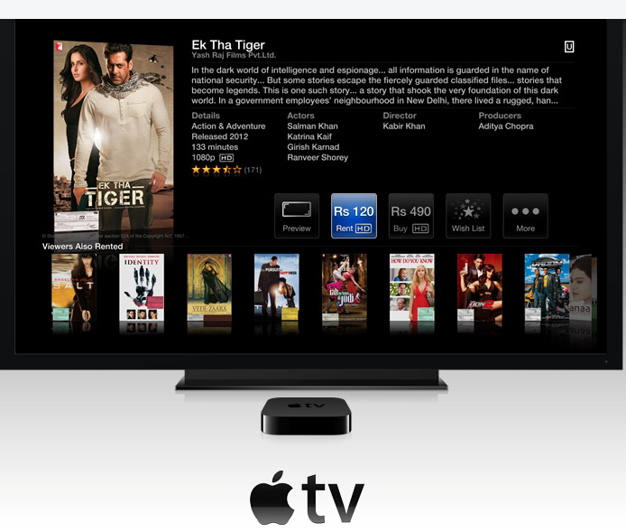 Apple TV India Store