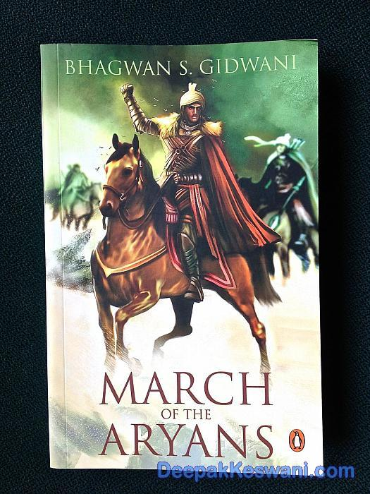 March of the Aryans book