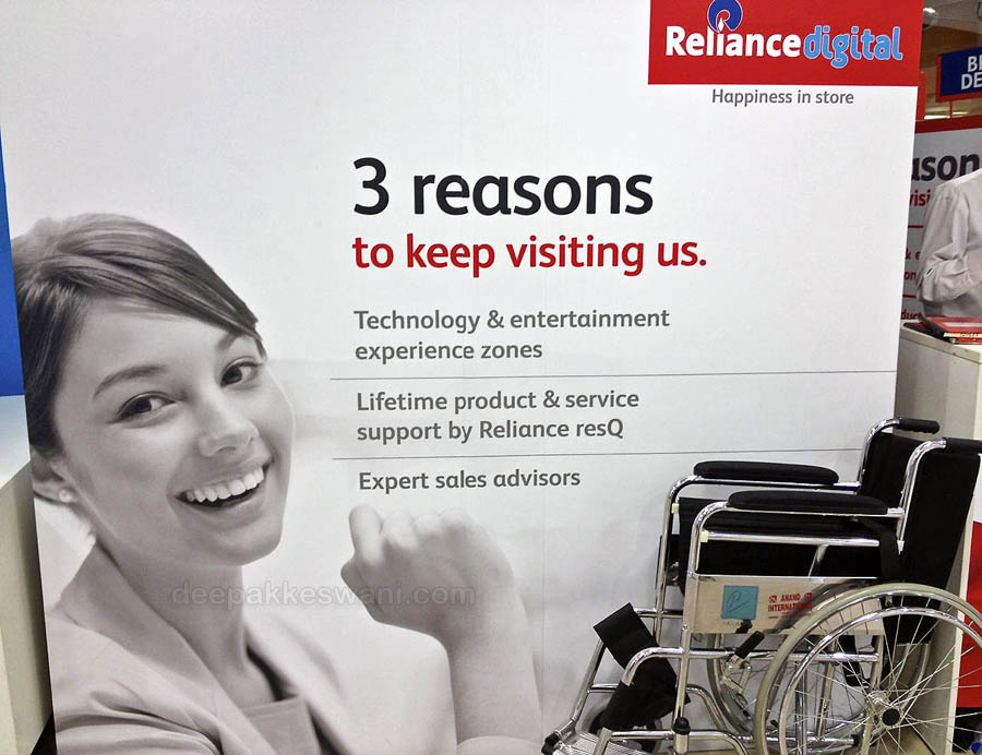 Reliance Digital 3 reasons