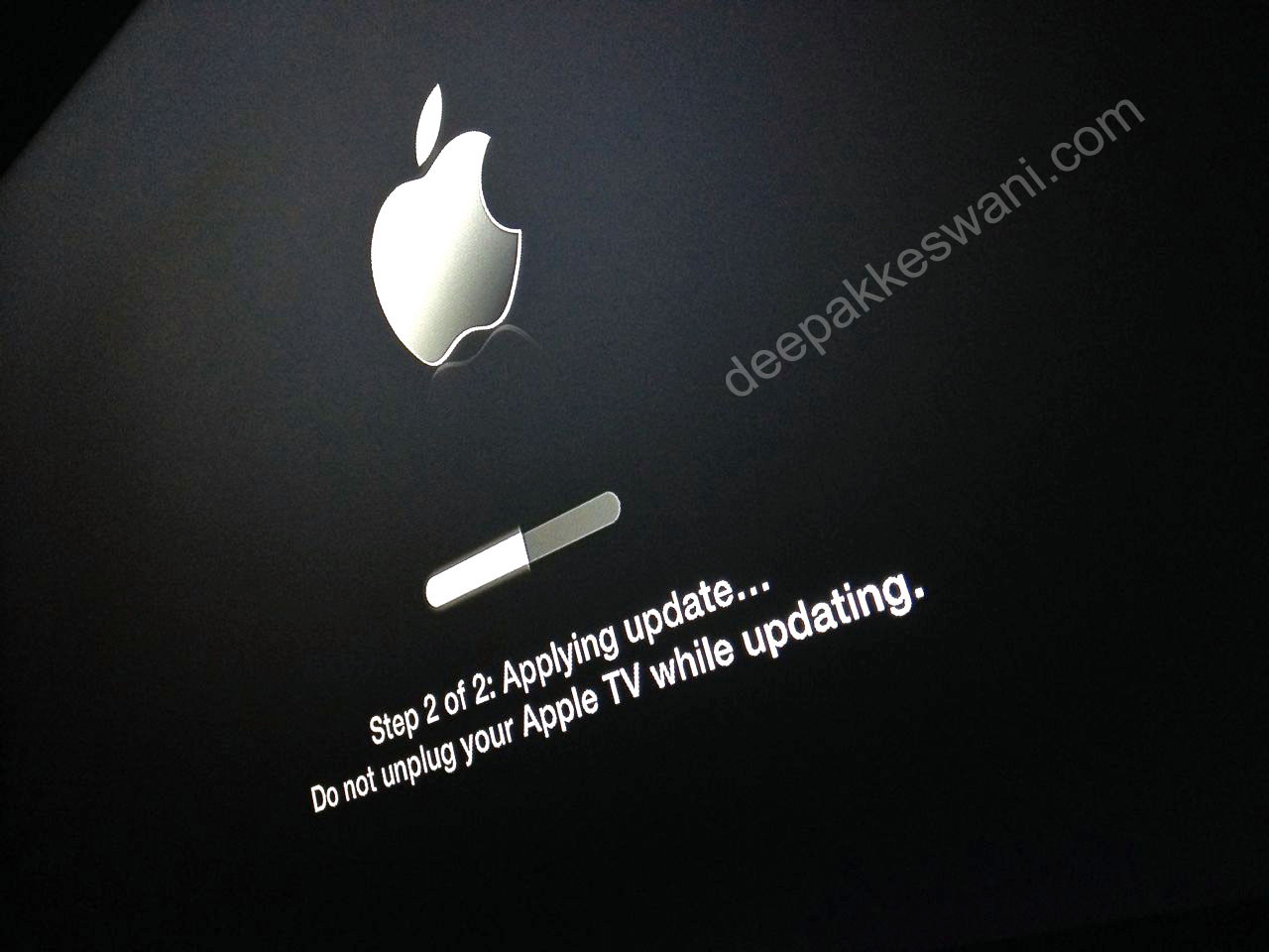 Apple TV version 6 installation