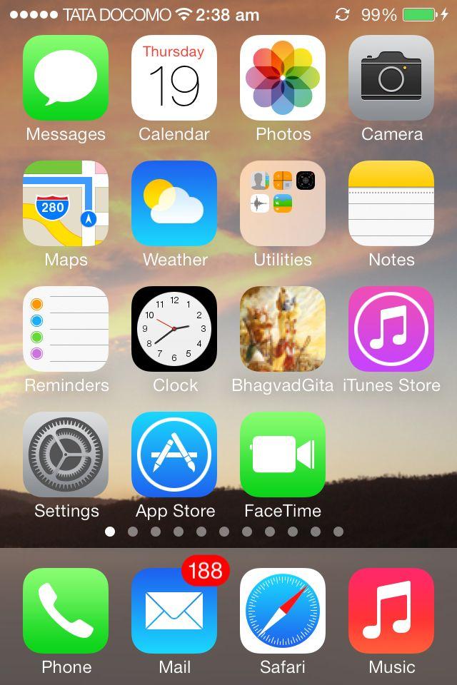 iSO 7.0 on Tata DOCOMO iPhone