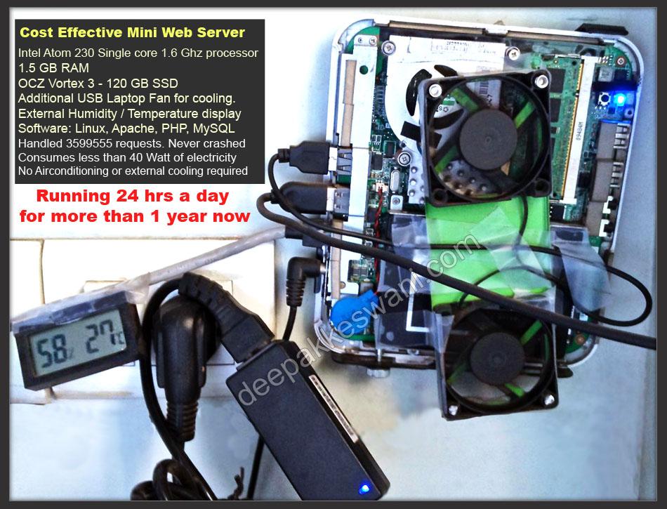 Cost Effective web server