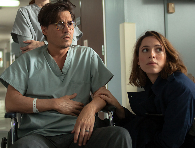 Transcendence Movie Johnny Deep Rebecca Hall