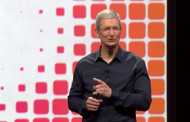 Tim Cook at Apple WWDC14