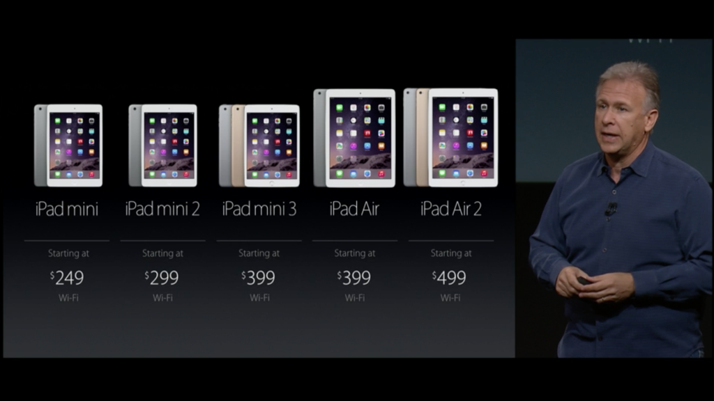 Apple iPad Prices for entire range