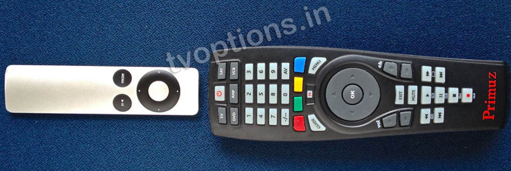 Configure Universal Remote with Apple TV