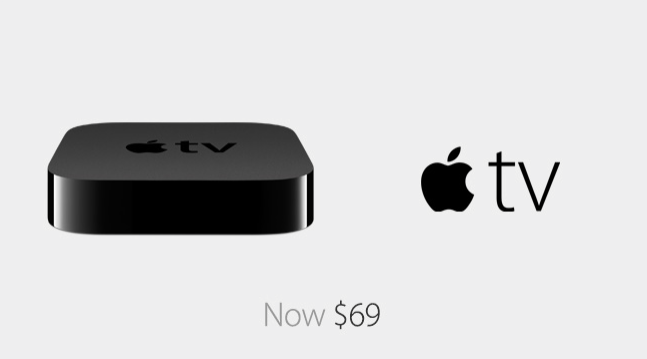 Apple TV 69 USD now