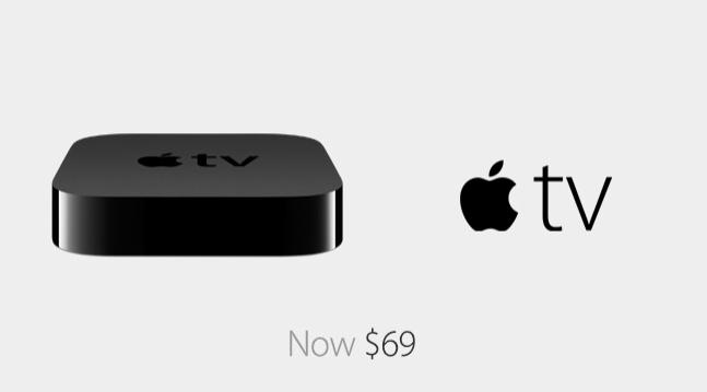 Apple TV 69 USD now
