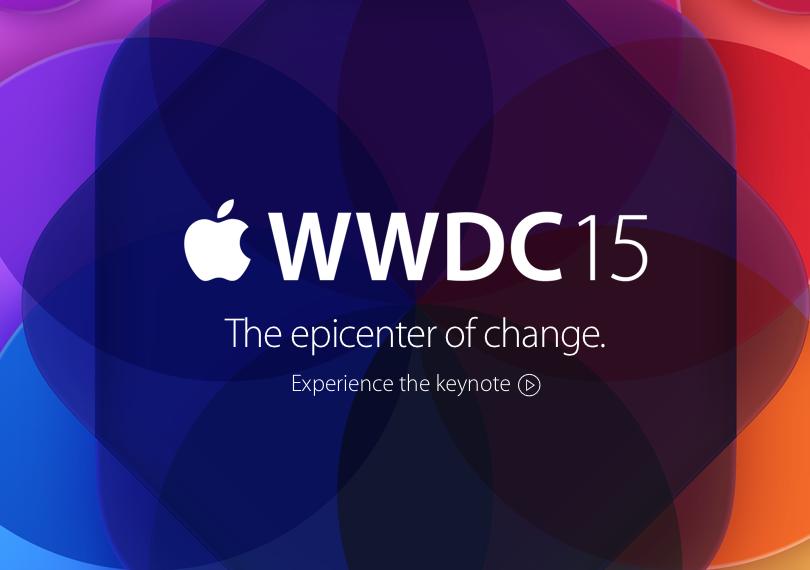 WWDC15 keynote