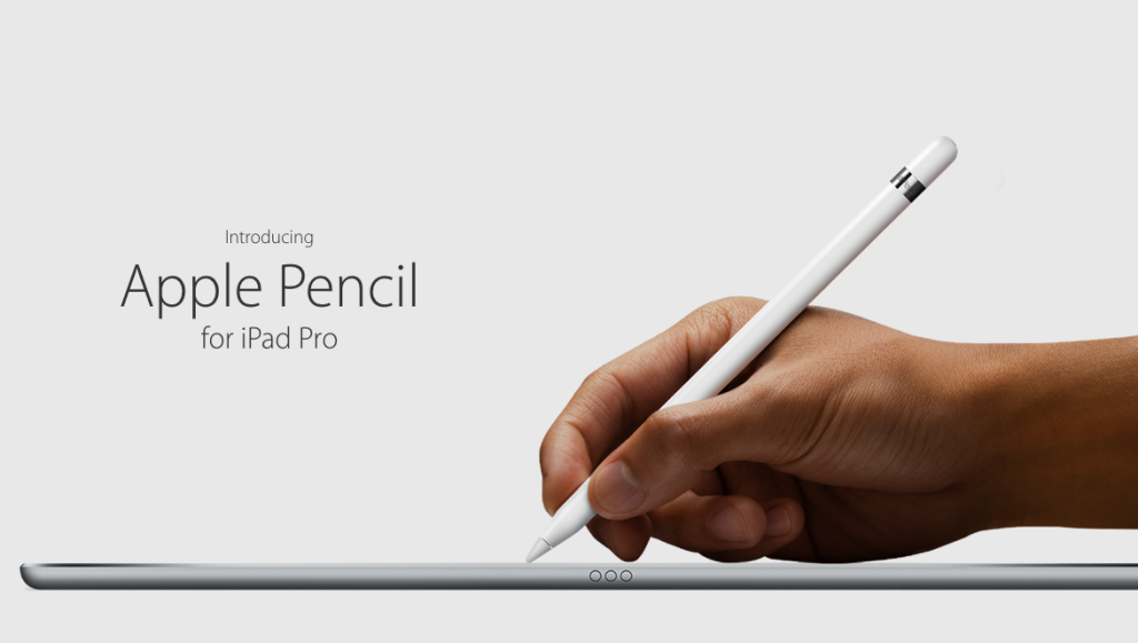 new iPad Pro with Apple Pencil
