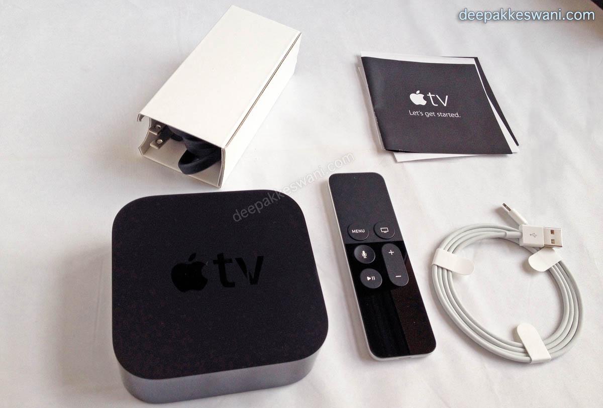 New Apple TV 4th Generation India