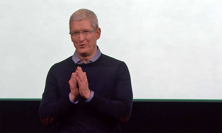 Tim Cook launching new iPhone SE