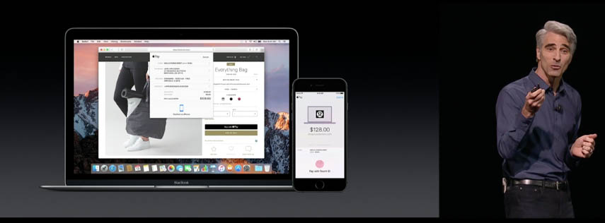 Apple pay on web with macOS Sierra