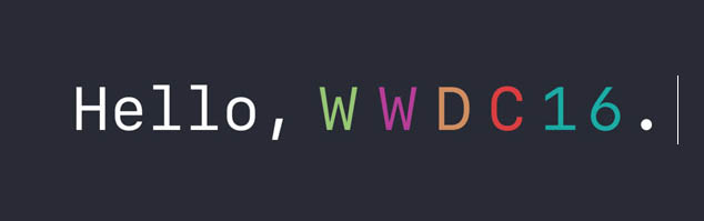 Hello WWDC 2016
