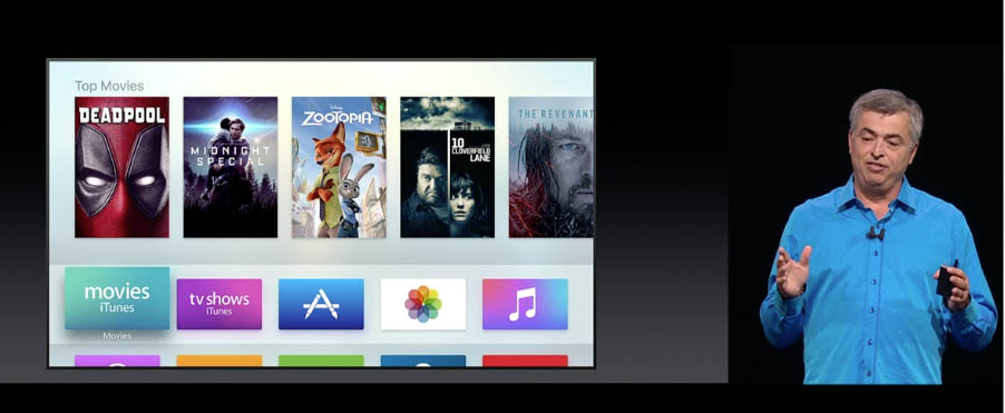 new Apple tvOS