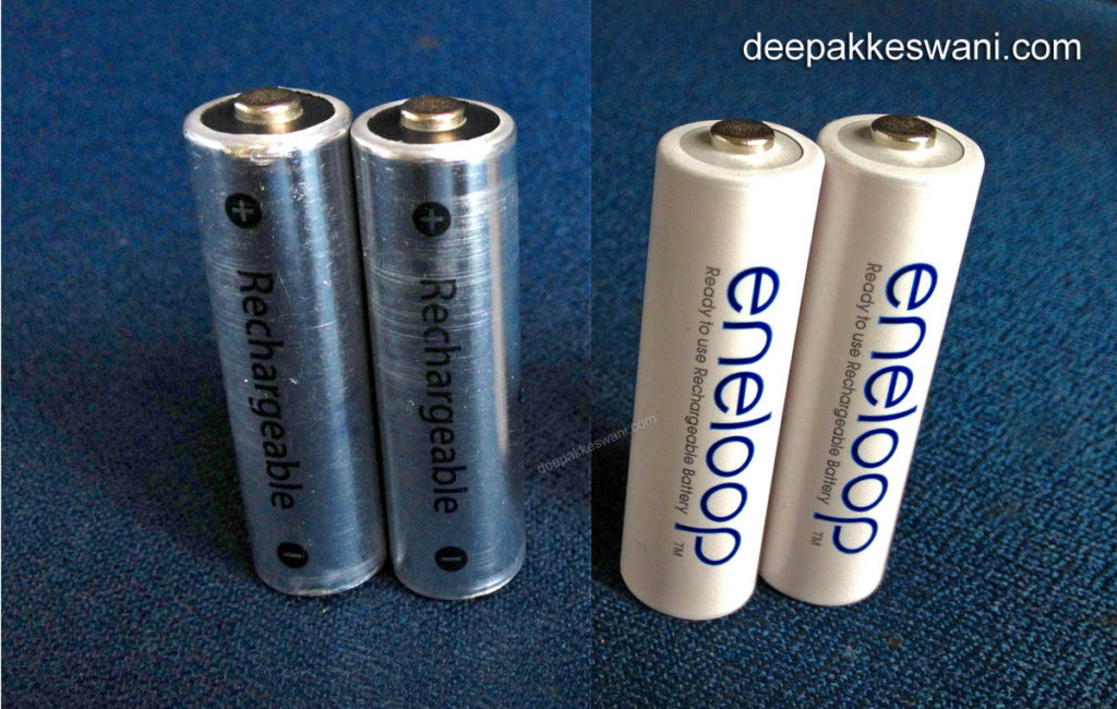 Apple AA Batteries Panasonic Sanyo eneloop AA Batteries