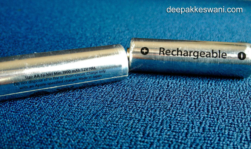 Apple Rechargeable AA Batteries