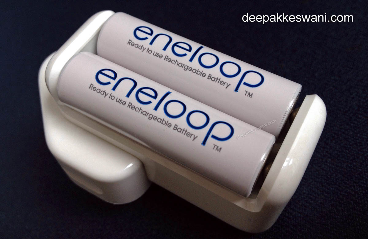 eneloop Batteries in Apple Charger
