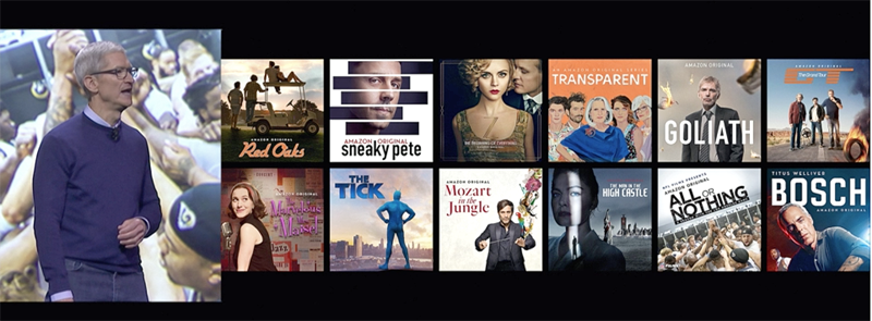 Amazon Prime Video Coming to Apple TV