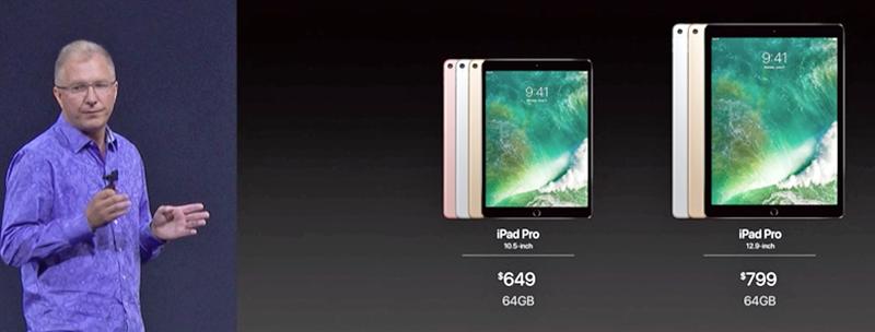 New iPad Pro price
