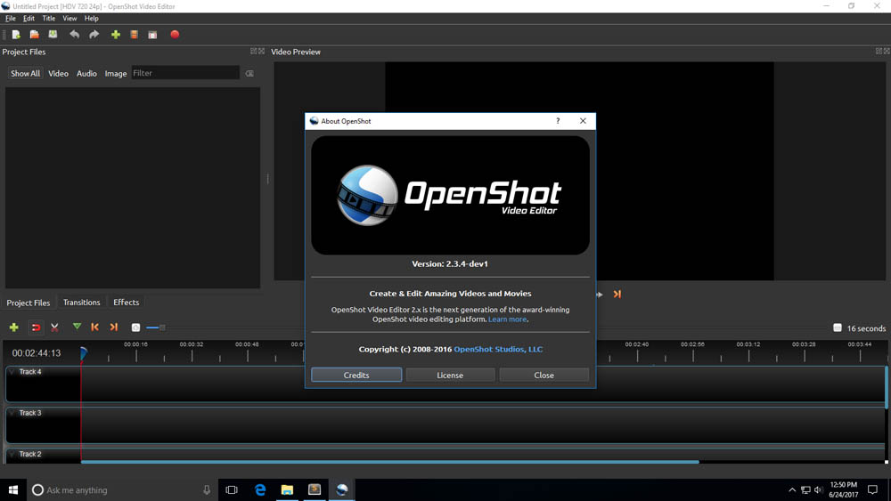 Open Shot for video editing
