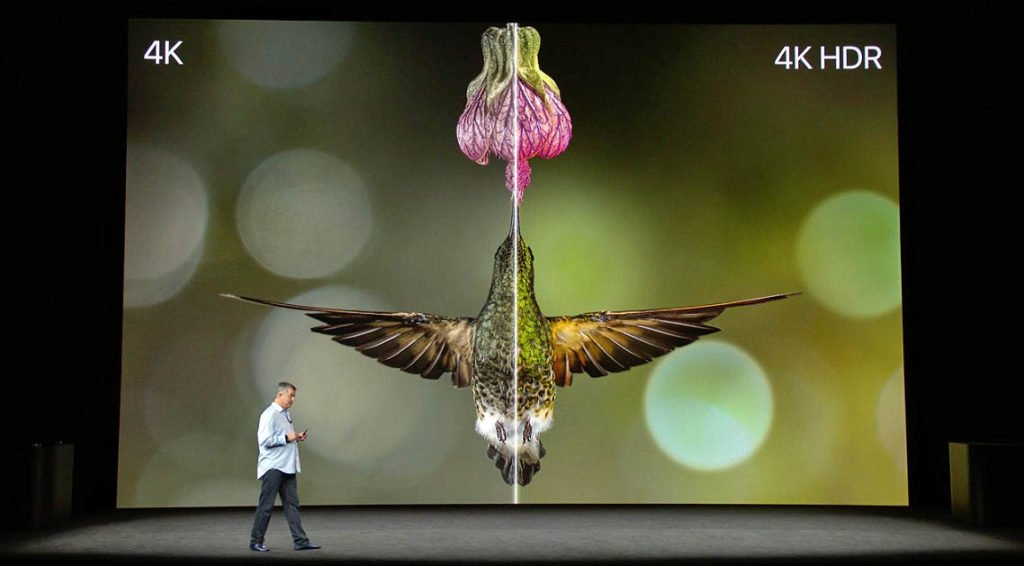 Apple TV 4K with HDR