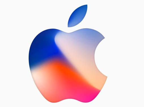 apple logo for iphone 8 launch