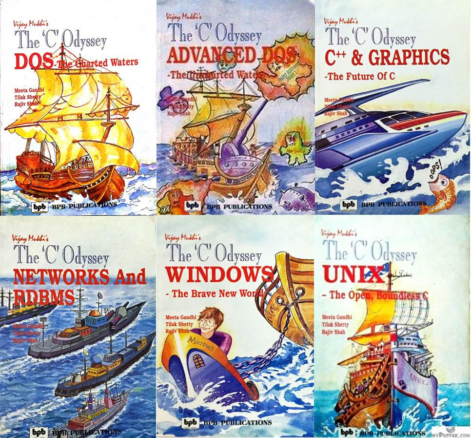 The C Odyssey books by Vijay Mukhi